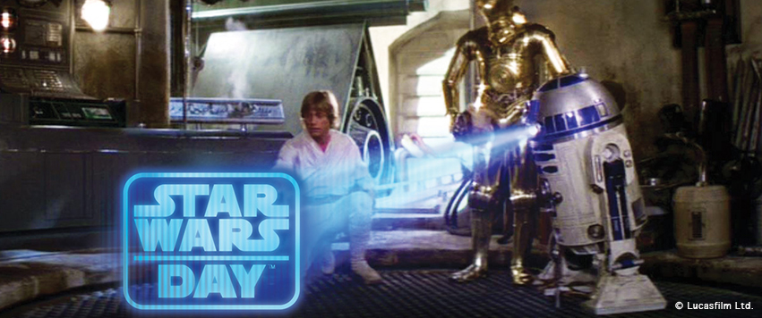 STAR WARS DAY: Tolle Mal- und Bastelvorlagen zum Downloaden