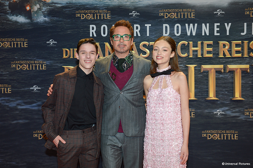 Dr. Dolittle: Robert Downey Jr. rockt Berlin