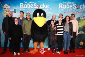 DER KLEINE RABE SOCKE: Rabenstarke Premiere in Berlin