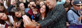 >> GEMINI MAN: Will Smith feiert seinen Geburtstag mit Fans in Budapest