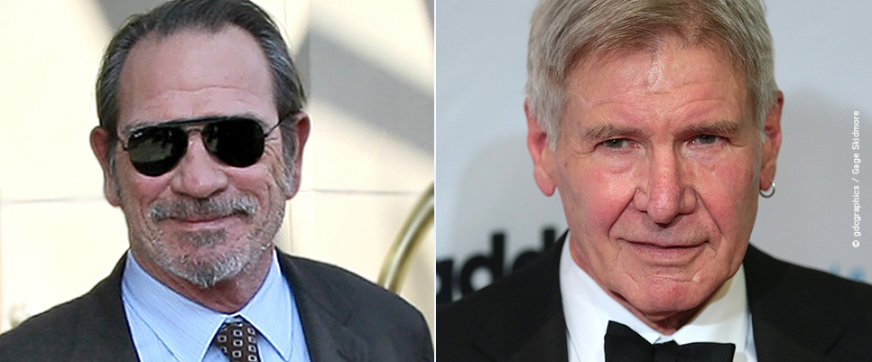 >> THE BURIAL: Tommy Lee Jones ersetzt Harrison Ford
