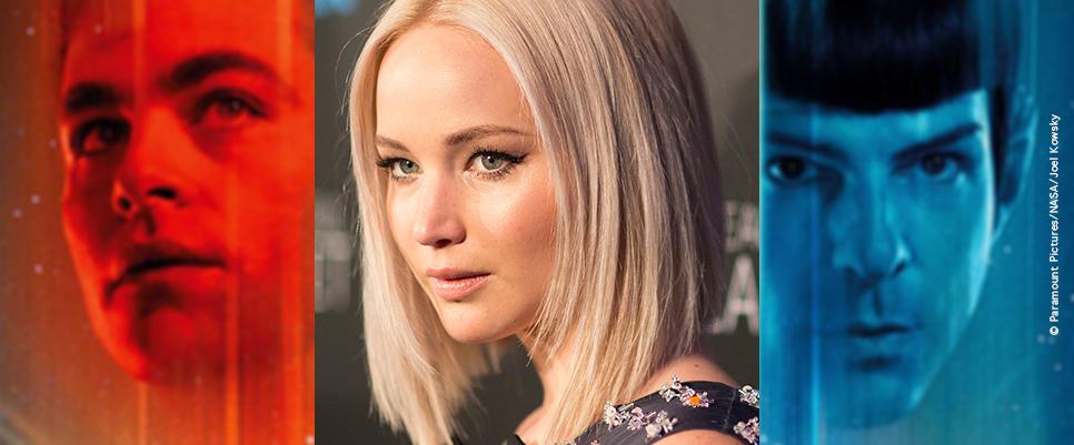 >> STAR TREK 4: Jennifer Lawrence auf der Enterprise?